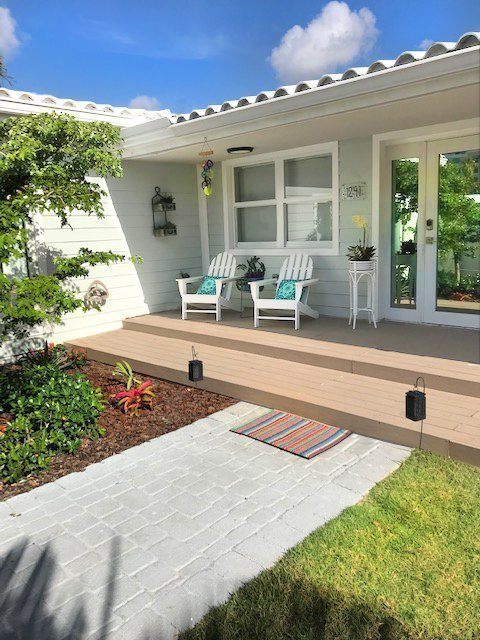 composite decking Miami front porch